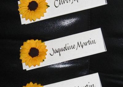 SunflowerPlceCards