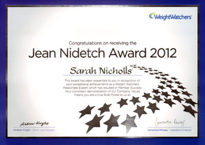 Award Jean Nidetch